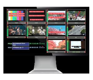 Система AirMonitor для полицейской записи, экран монитора