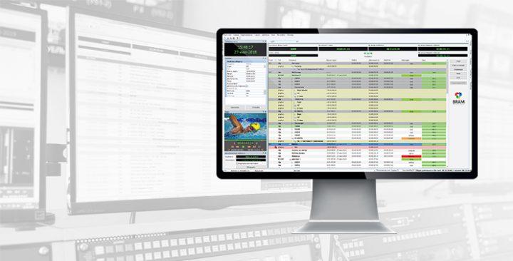Система для автоматизации телевещания AutoPlay 1 на экране монитора