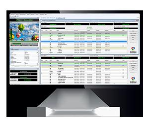 Система для автоматизации телевещания AutoPlay 3 на экране монитора