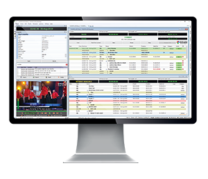 Система для автоматизации телевещания AutoPlay 7 на экране монитора