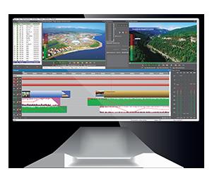 Система NewsHouse для подготовки новостей на экране монитора